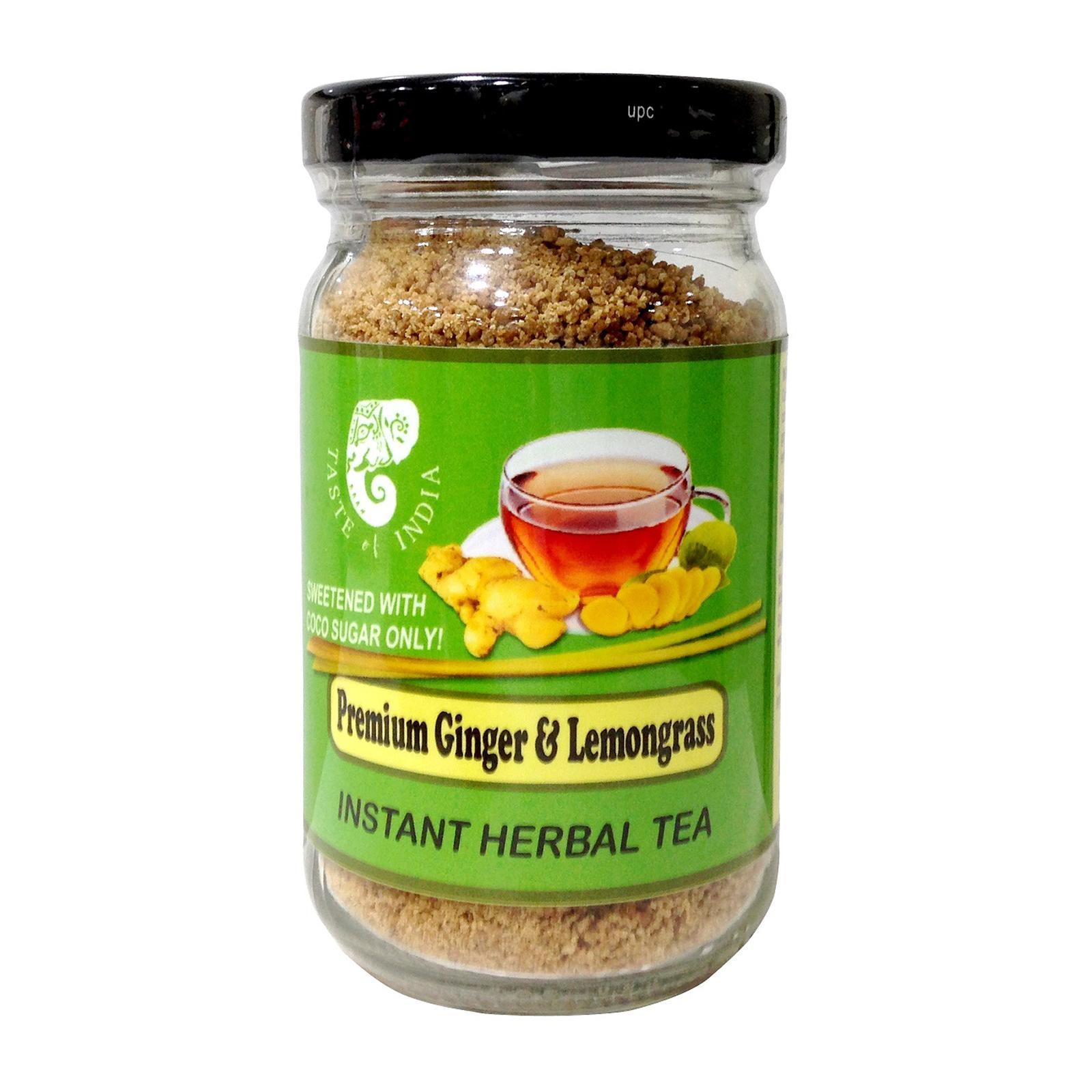 Taste Of India Premium Ginger And Lemongrass Instant Herbal Tea