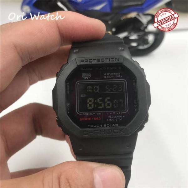(In stock) Original   G Shock DW 5600 Mens Fashion Sport Black Resin Strap Watch LCD Standard Digital Watches for men 200m Waterproof and Shock-proof DW 5600/DW5600 Malaysia