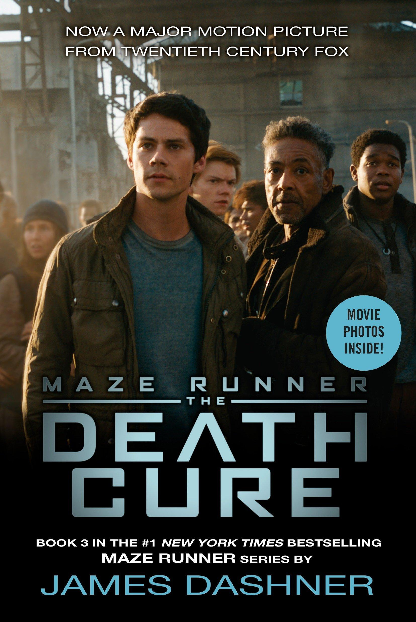 Death Cure Movie Tie-In Edition (Maze Runner, Book Three)
