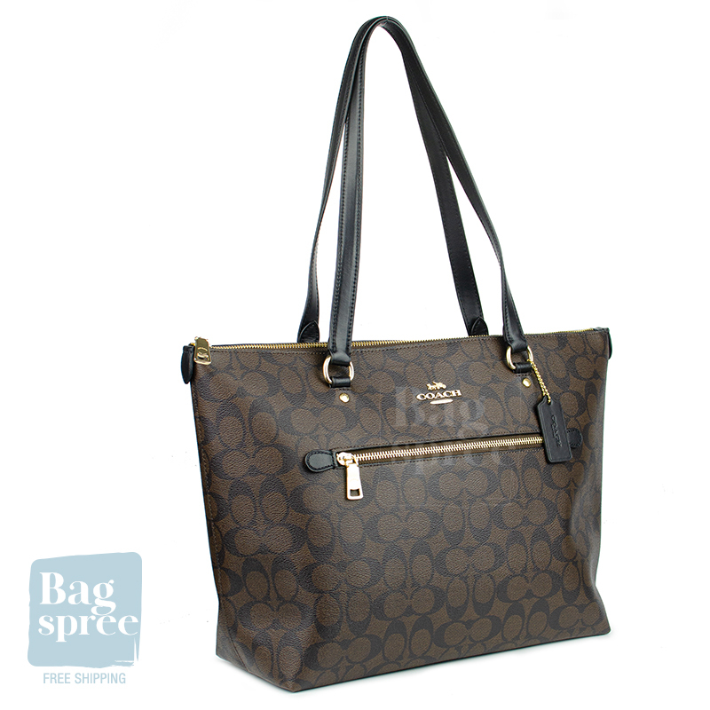 *Authentic & Brand New* Coach Gallery Tote Bag F79608 F79609 [Gift Receipt Provided] [NEWIN] [SIG]