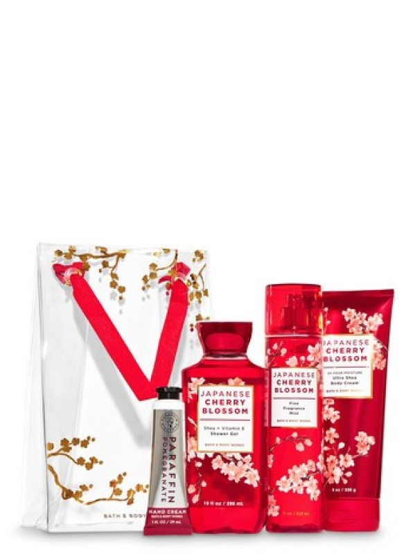 Buy Bath and body works Japanese bloom gift set Singapore