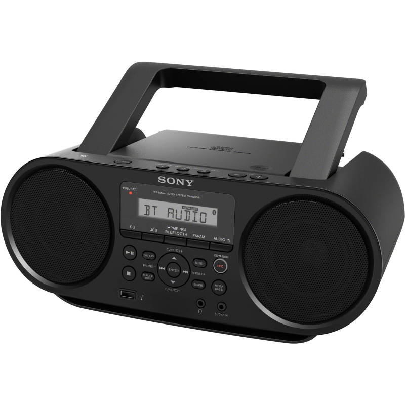Sony ZS-RS60BT CD Boombox with USB recording Singapore