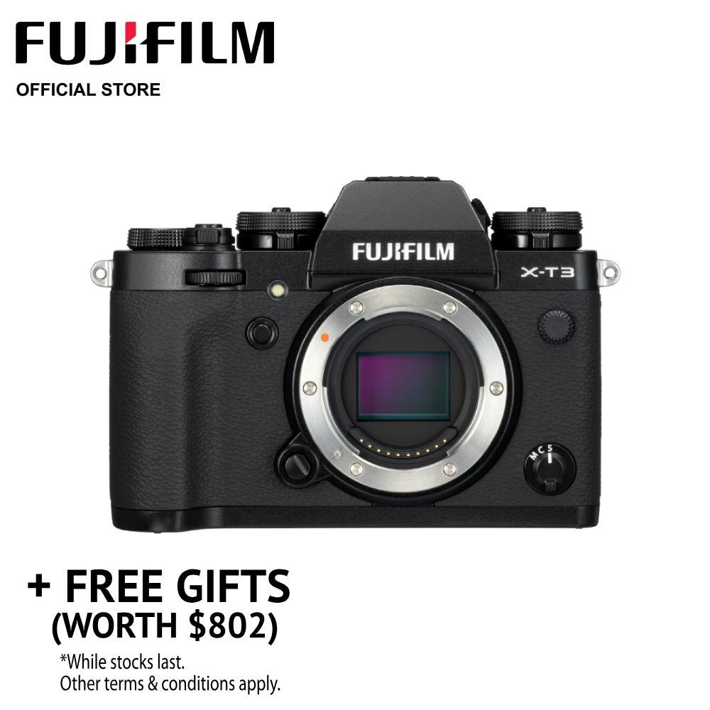 [may Promo] Fujifilm X-T3 Body (free Gifts Worth $802) By Fujifilm.
