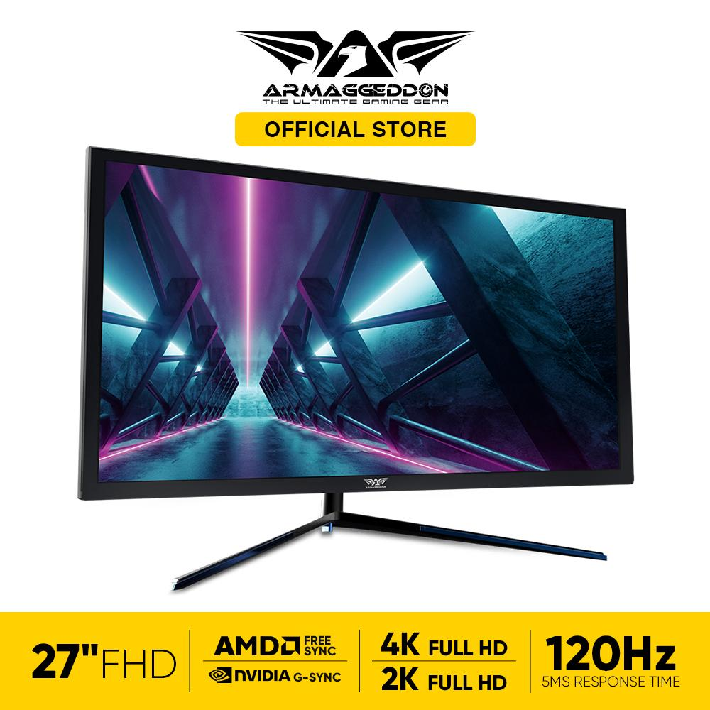 Armaggeddon Pixxel+ EFX 27UHD SWITX 4K/2K, Up to 120 Hz 27 Inch Gaming Monitor Free SoundBar