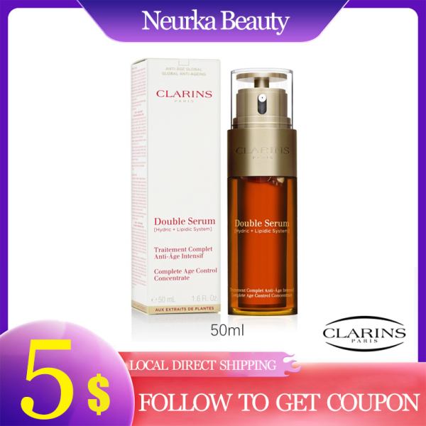 Buy Clarins Double Serum 50ml [Luxury Beauty (Skincare) – Essences / Serums / Concentrates Brand New 100% Authentic] No Ratings Singapore