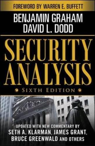 [McGraw-Hill] Security Analysis