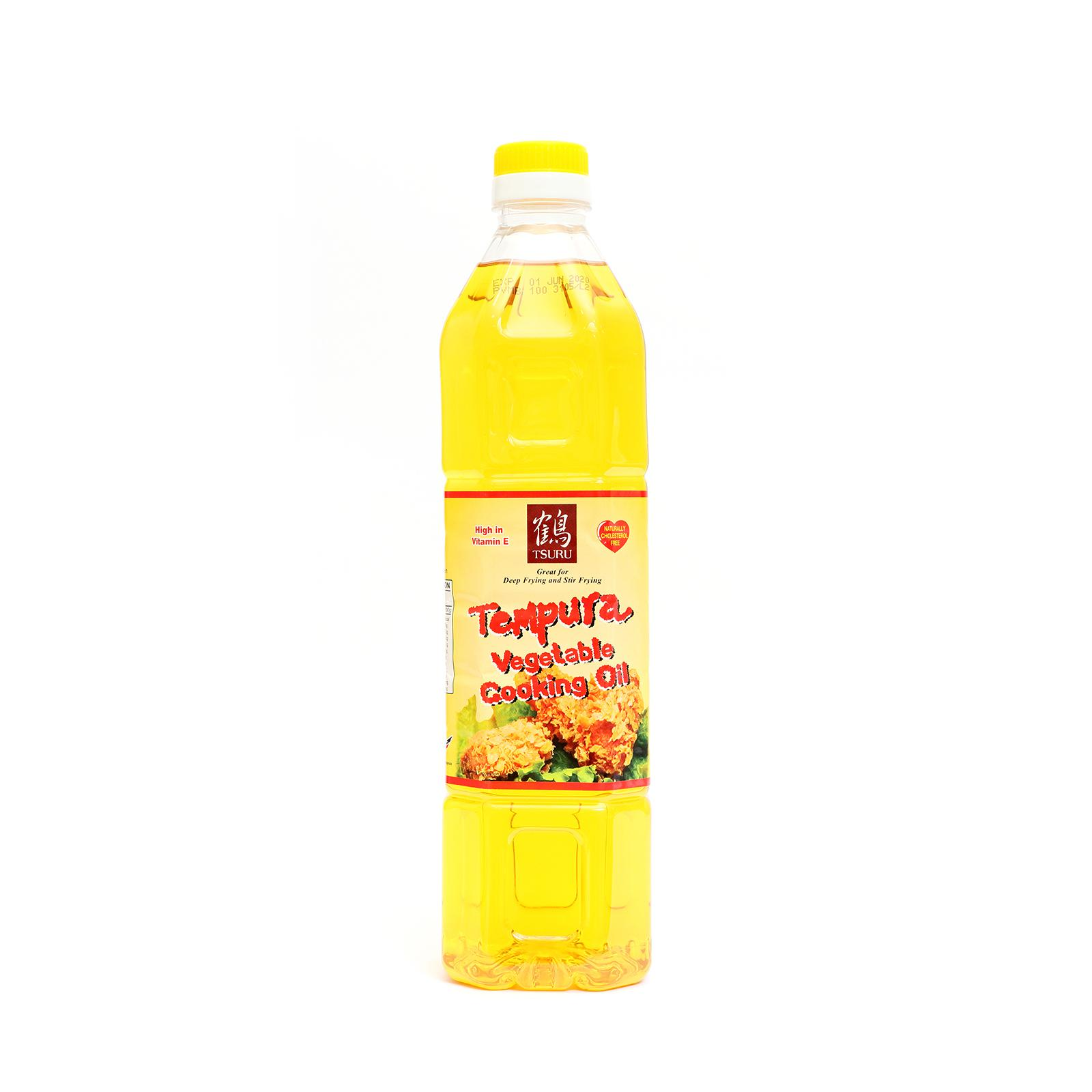 Tsuru Tempura Vegetable Cooking Oil 1l By The Rice Shop.