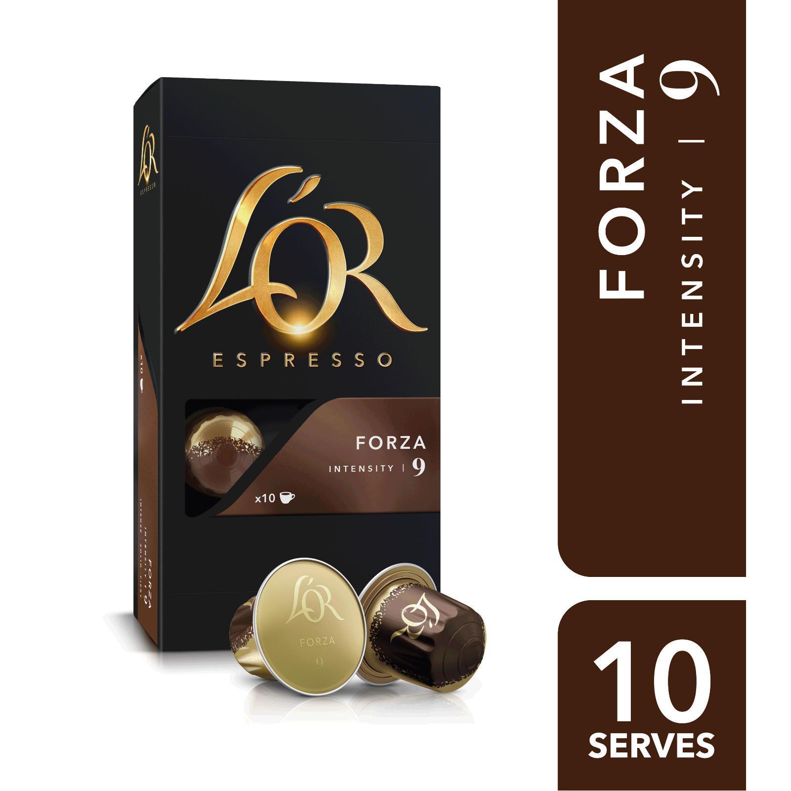 L'OR Espresso Forza Intensity 9 - Nespresso®* Compatible Coffee Capsules