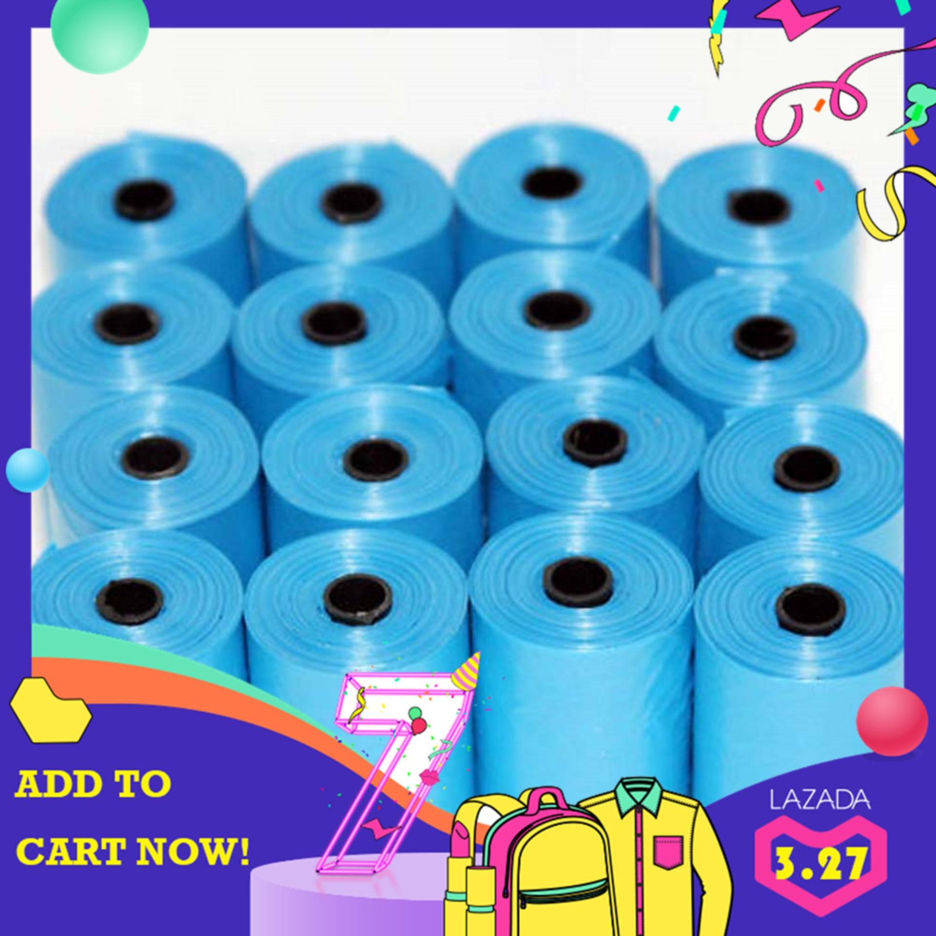 Pet Poop Bags Dog Cat Waste Pick Up Clean Bag Refill 300 Rubbish Bags - Intl By Xuanhe Fashionmall.