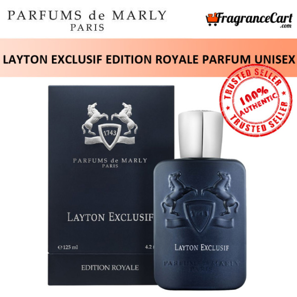 Buy Parfums de Marly Layton Exclusif Edition Royale Parfum for Unisex (125ml) Men Women Blue [Brand New 100% Authentic Perfume/Fragrance] Singapore