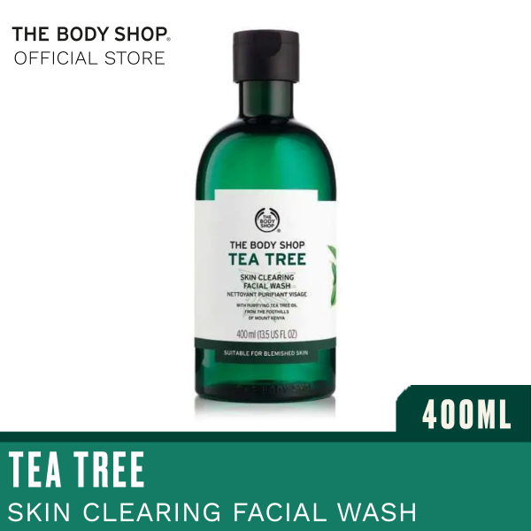 Buy The Body Shop Tea Tree Skin Clearing Facial Wash (400ML) Singapore