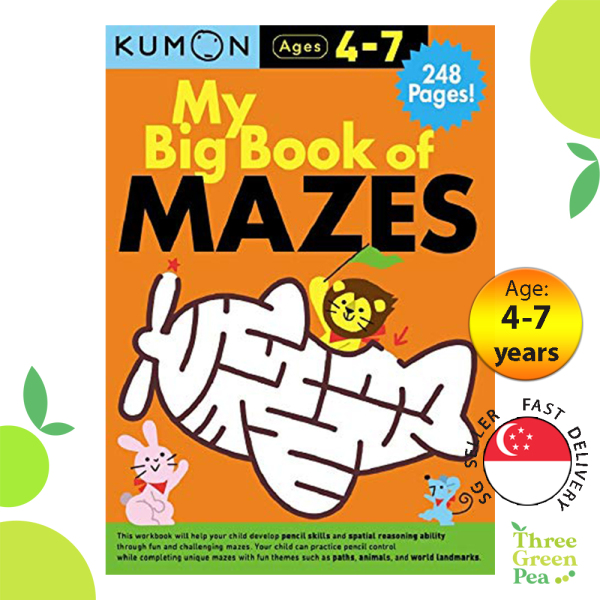 Kumon - My Big Book Of Mazes