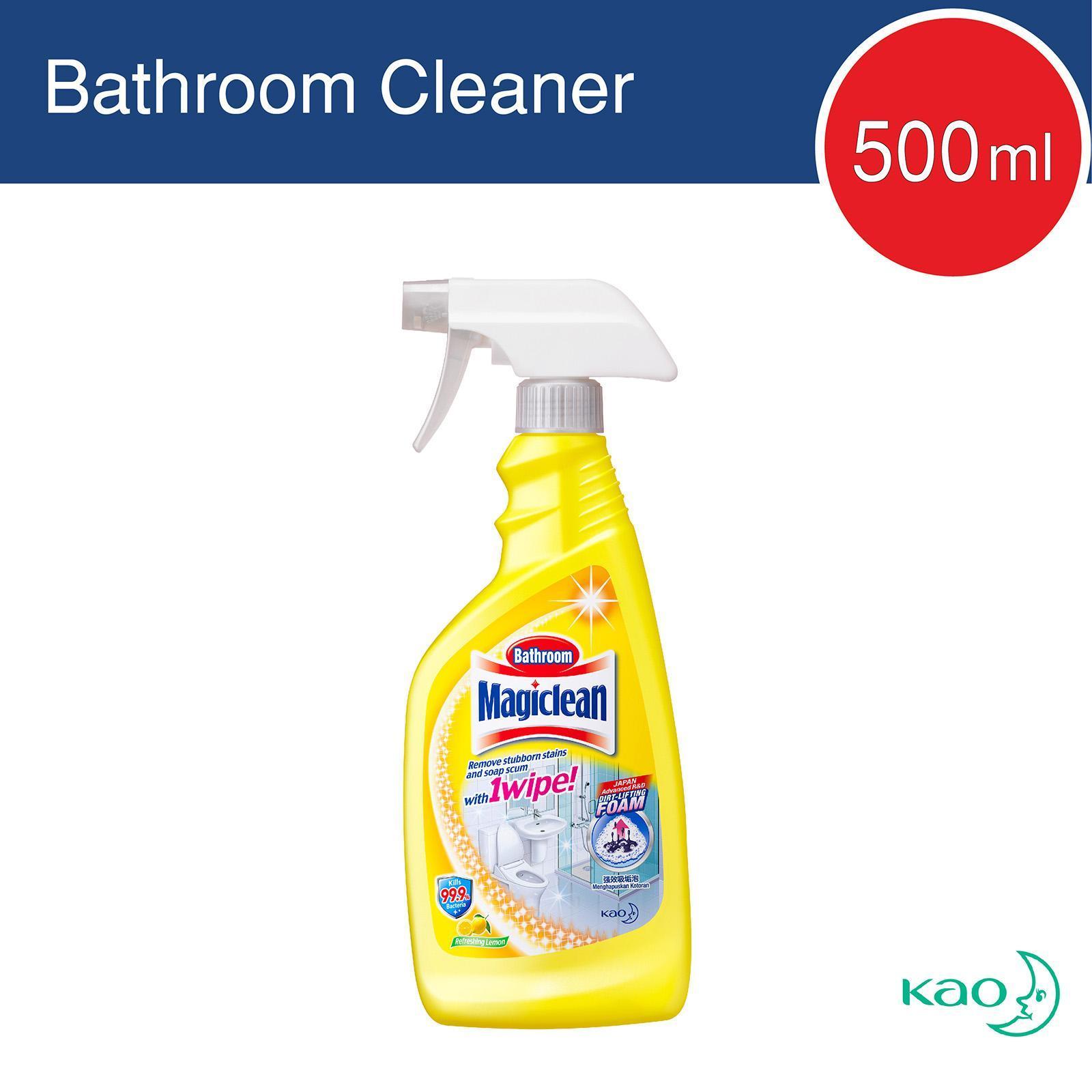 Magiclean Lemon Scent Bathroom Cleaner