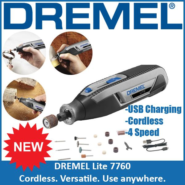 DREMEL LITE 7760 Variable Speed Cordless Rotary Tool