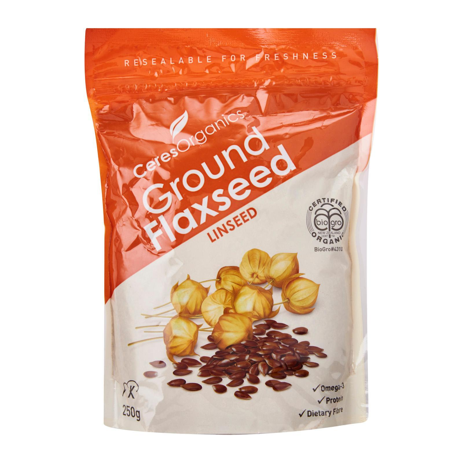 CERES ORGANICS Flaxseed Ground (Ground Linseed) - by Optimo Foods