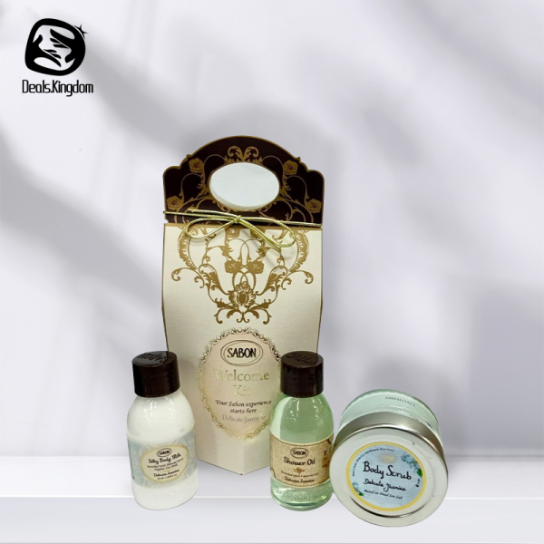 Buy 【SABON Delicate Jasmine Welcome Kit】100% AUTHENTIC | READY STOCK | GIFT SET | SHOWER OIL Singapore