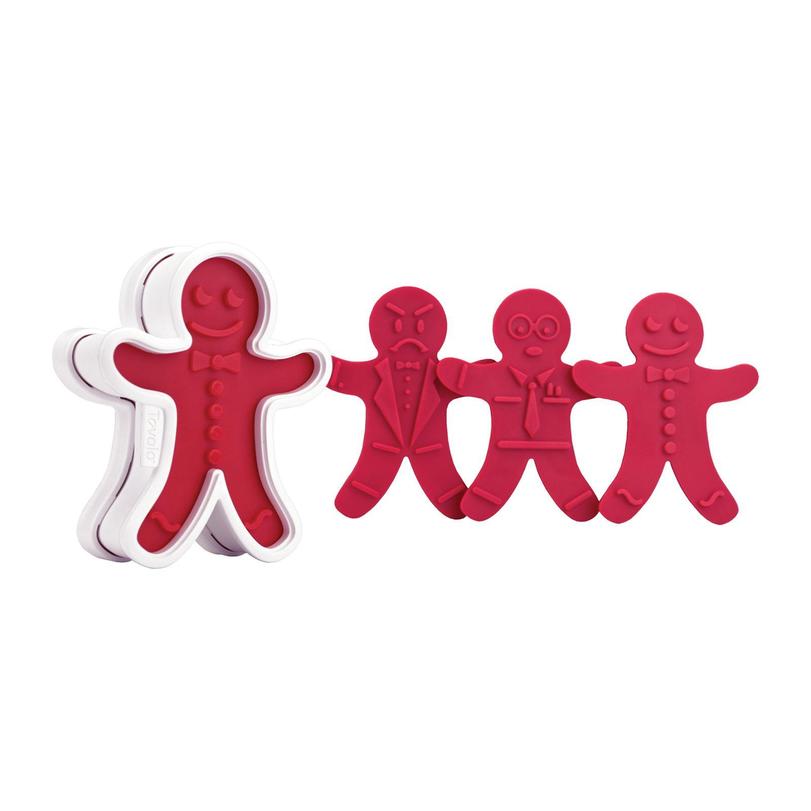 Tovolo Cookie Cutters Ginger Boys Set Of 6