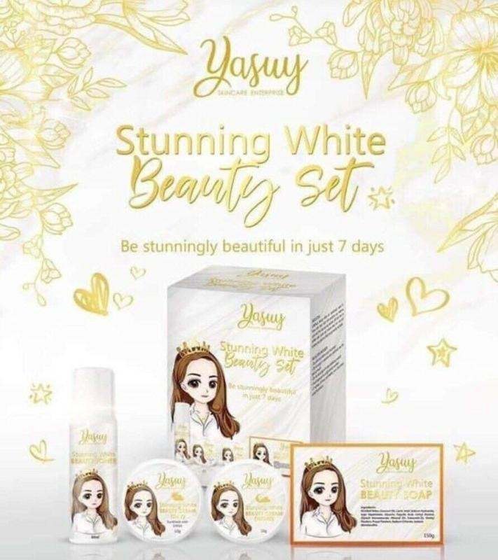 Buy Yasuy Stunning White Beauty Set Singapore