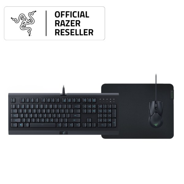 Razer Level Up Bundle – Cynosa Lite + Viper Mini + Gigantus V2 - Medium – US Layout FRML Packaging