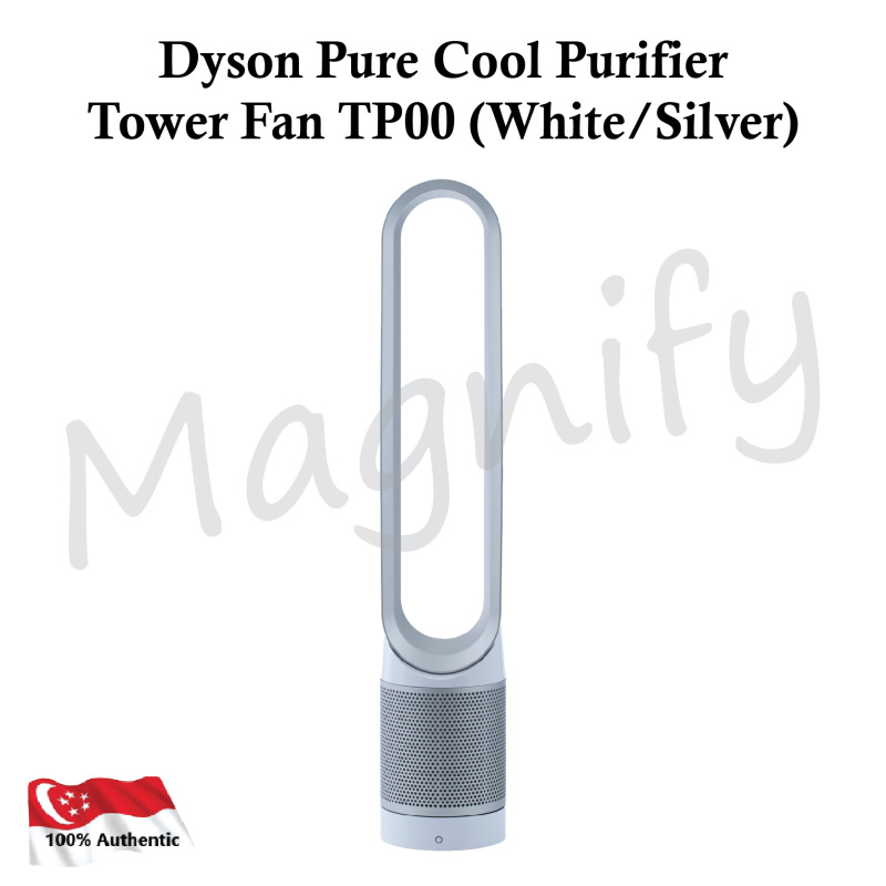 Dyson Pure Cool Air Purifier Tower Fan TP00 (White Silver) Singapore