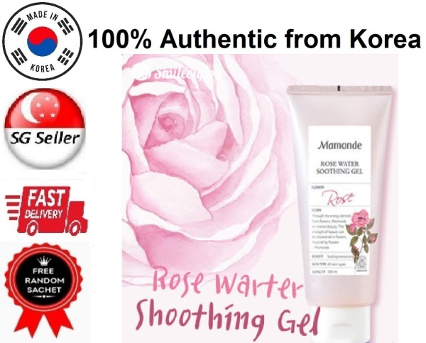 Buy *MAMONDE* ROSE WATER SOOTHING GEL (300ML) SG SELLER *FAST DELIVERY* LATEST EXPIRY JULY 2023 *MOISTURIZING & HYDRATING* TREATS REDNESS SUNBURN & SUN DAMAGE MULTI PURPOSE MOISTURIZER *FOR ALL SKIN TYPES* - 100% AUTHENTIC BY BEAUTY BESTIE - MADE IN KOREA Singapore