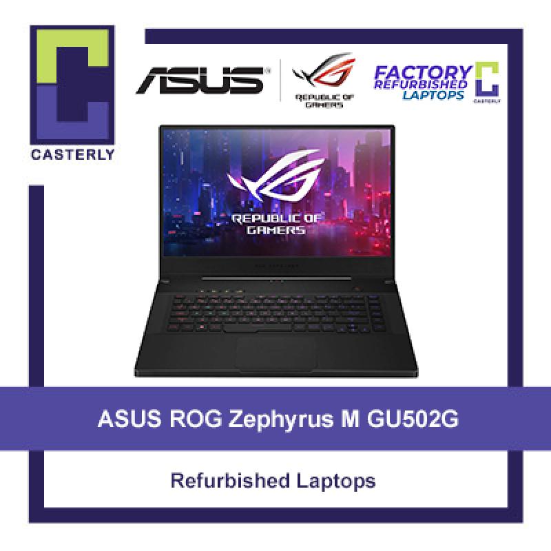 [Refurbished] ASUS Zephyrus ROG M GU502G Gaming Laptop / i7-9750H / 16GB Ram / 1TB SSD / RTX 2070 / Windows 10