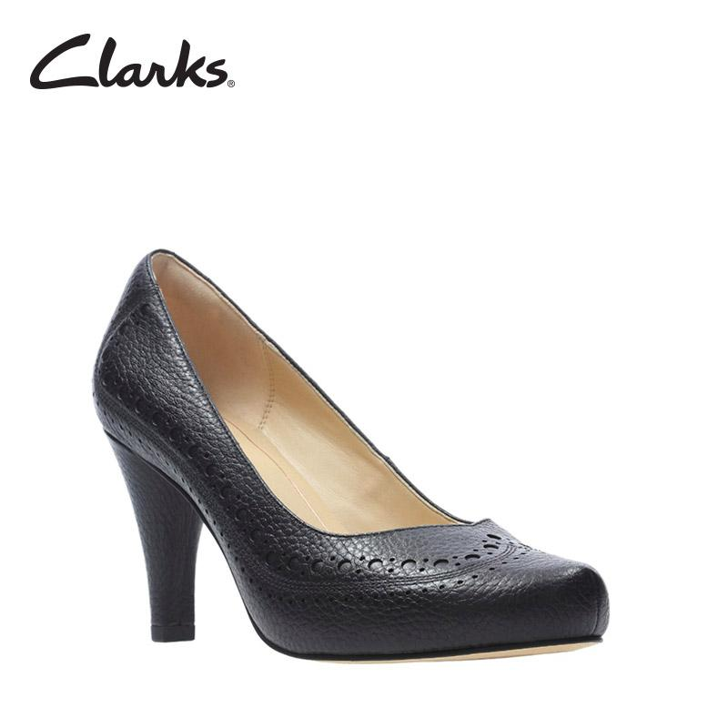 Clarks Dalia Ruby Black Leather Womens Dress Shoes Retail Sort 2 By Clarks Official Store.