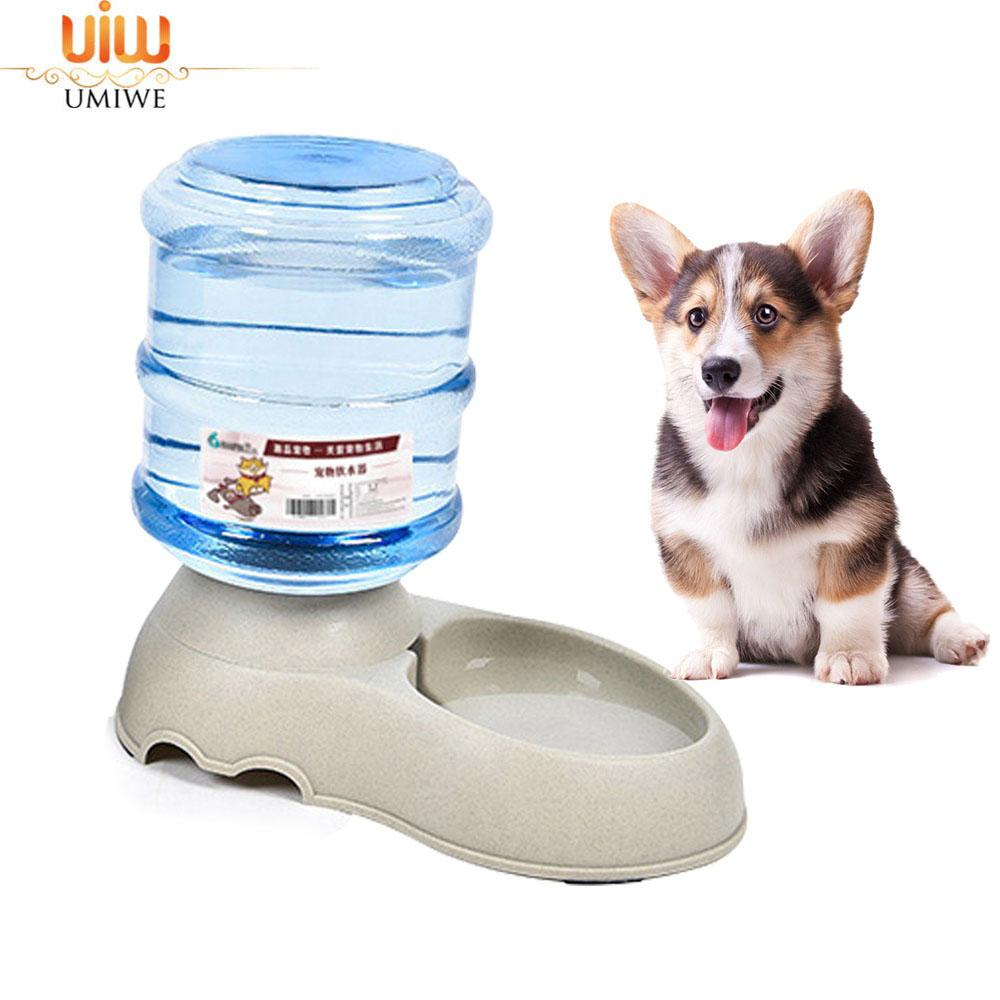 Umiwe 3.75l Large Automatic Pet Feeder Drinking Fountain For Cats Dogs Environmental Plastic Pets Water Dispenser By Umiwe.