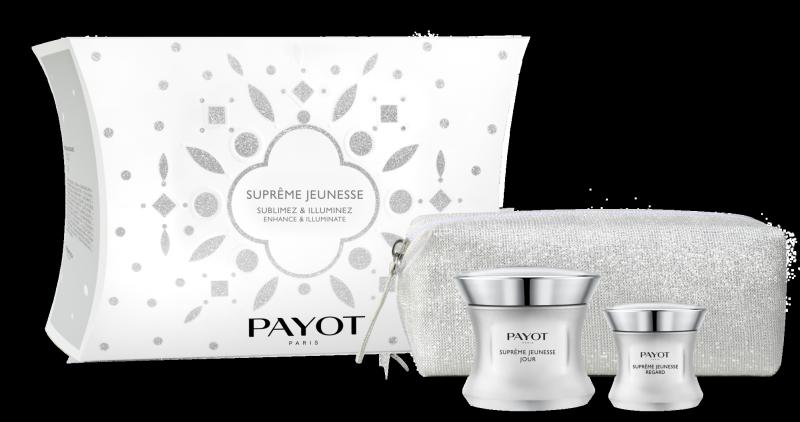 Buy PAYOT Supreme Jeunesse Enhance Illuminate Set (1 x Supreme Jeunesse Jour Face Cream 50ml + 1 x Supreme Jeunesse Regard Eye Cream 15ml + 1 x Limited Edition Pouch) Singapore