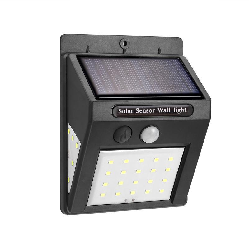 Led Solar Power Pir Motion Sensor Wall Light 30Led Outdoor Waterproof Energy Saving Street Yard Path Home Garden Lamp