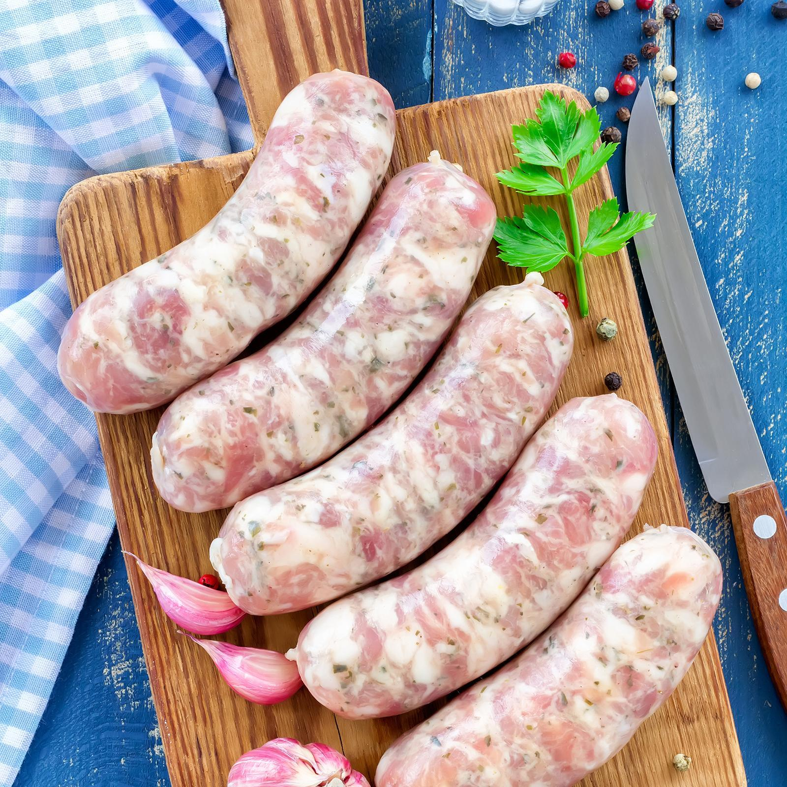 Sidecar Thai Basil Lime And Sweet Chili Chicken Sausages - Frozen