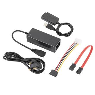 xingnangxingf Cáp Chuyển Đổi USB 2.0 Sang IDE SATA Cho Ổ Cứng 2.5 3.5 Inch, HD thumbnail
