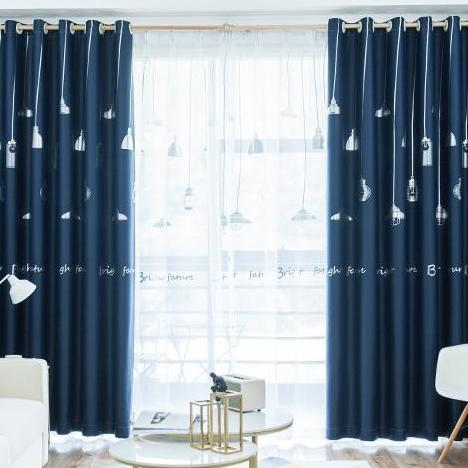 Chandelier Series Blackout Curtain - 150cm by 250cm