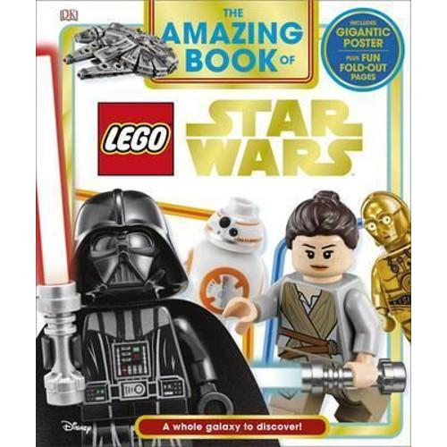 The Amazing Book of LEGO Star Wars : With Giant Poster