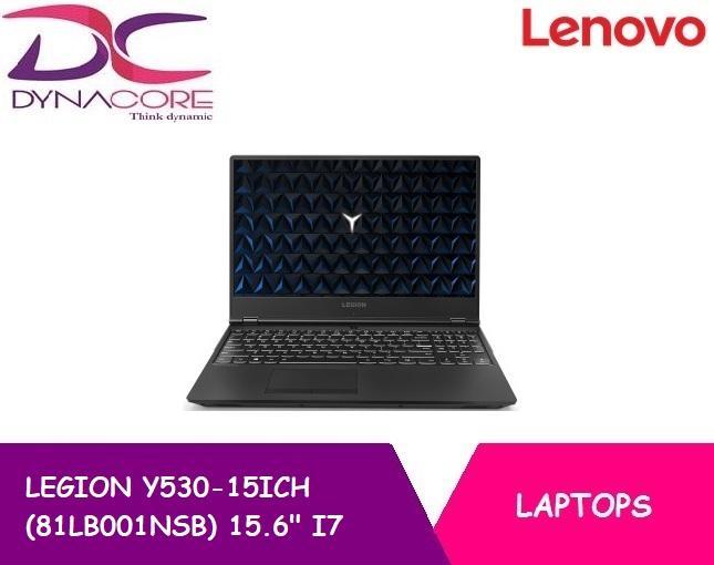 Lenovo Gaming Legion Y530-15ICH 81LB001NSB 15.6 Inch  i7-8750H