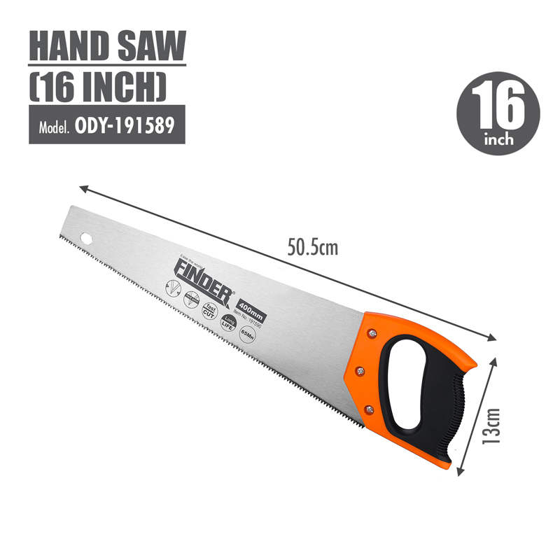 FINDER - Hand Saw (16 Inch)