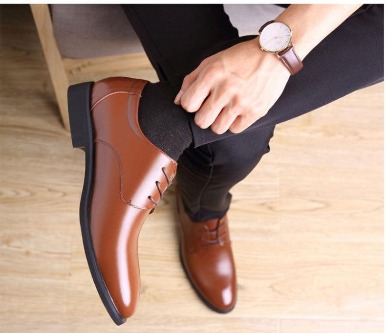 Giày Nam Cổ Thấp, Giày Công Sở, Thời Trang Thường Ngày, Mẫu Mới Mùa Thu 2020 giá rẻ
