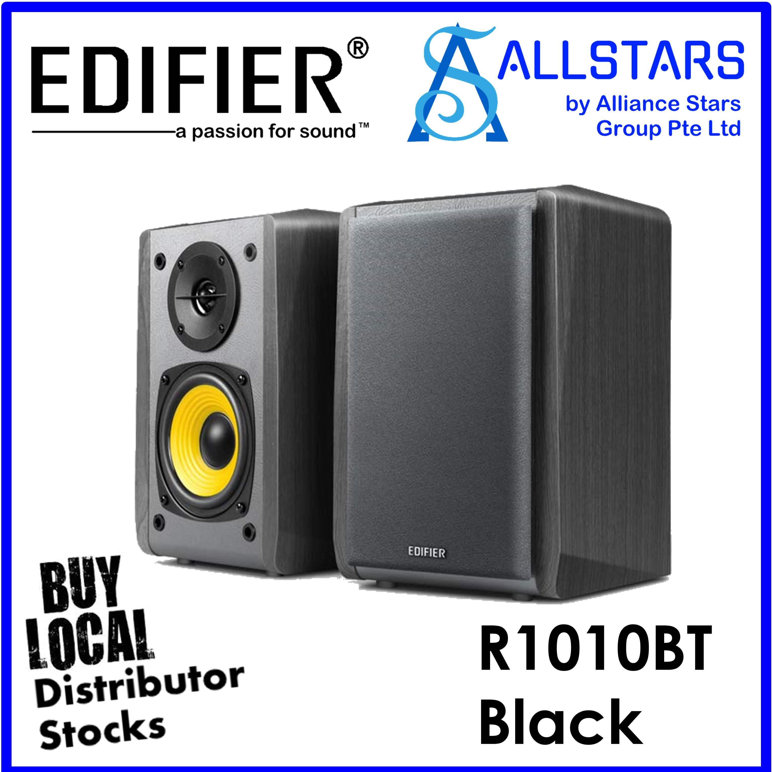 (ALLSTARS : WE ARE BACK / 9.9 PROMO) EDIFIER Black R1010 BT / R1010BT 2.0 Speaker / Bluetooth (Local Warranty 2years with Ban Leong)