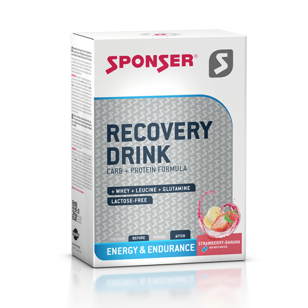 Buy SPONSER RECOVERY DRINK STRAWBERRY/BANANA (BOX 6 X 60G) Singapore