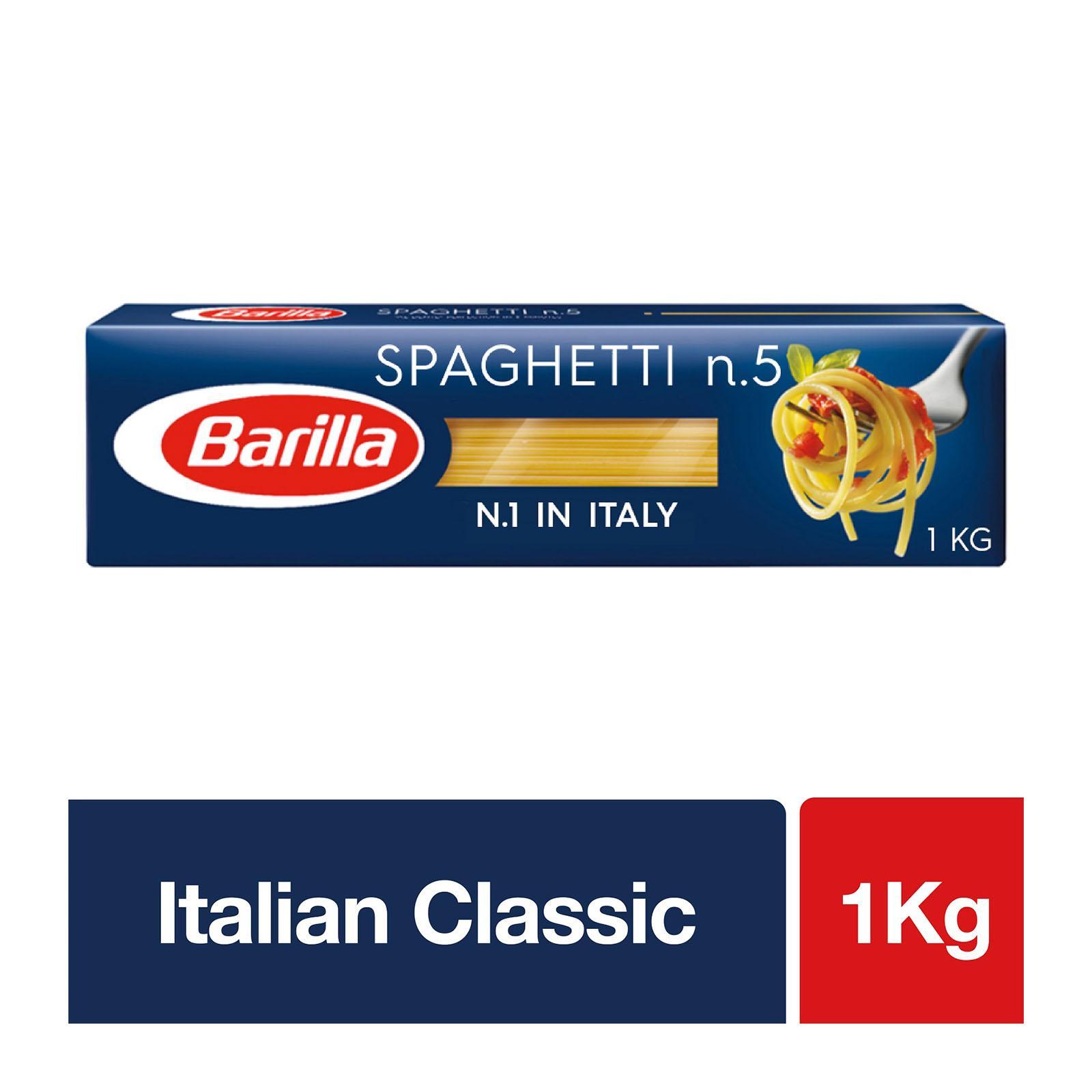 BARILLA Spaghetti Intergrali No.5 500g