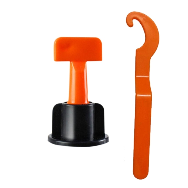 50Pc Flooring Wall Tile Leveling System Leveler Plastic Clip Adjustable Locator Spacers Plier Level Wedges Hand Tools