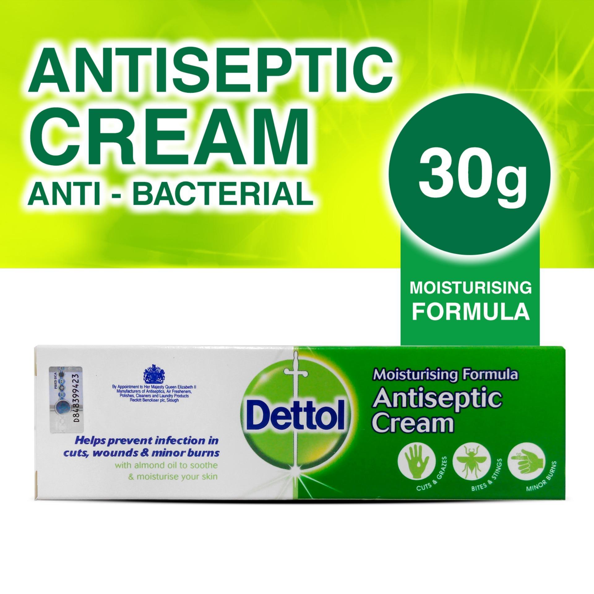 Dettol Moisturising Antiseptic Cream 30g By Dettol.