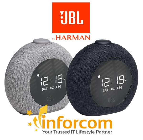 【PROMO】JBL HORIZON 2 Bluetooth Tuner FM Radio Alarm Clock USB Charging and Ambient LED Light Portable Speaker Singapore