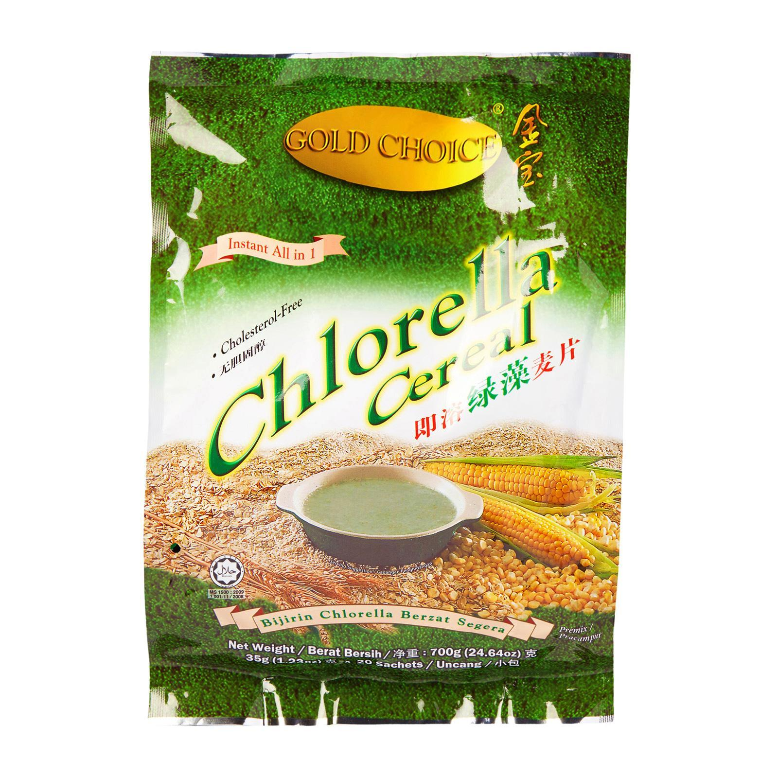 Gold Choice Chlorella Cereal Premix By Redmart.