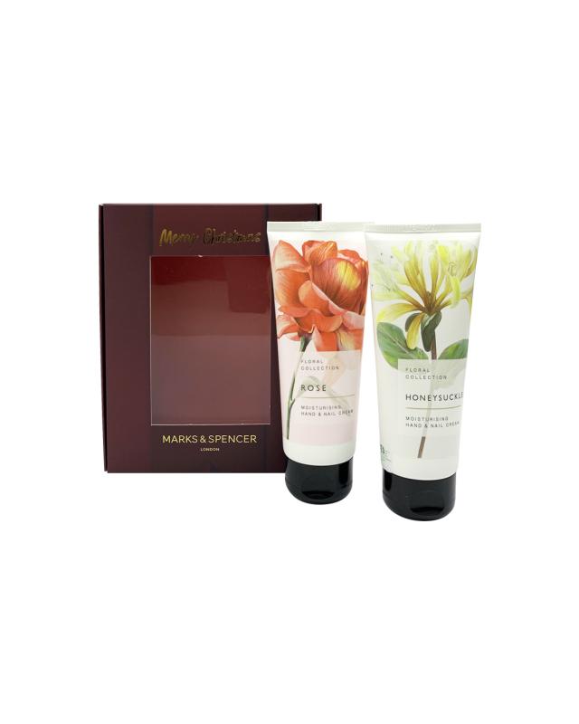 Buy M&S Honeysuckle & Rose Hand Cream Set Singapore