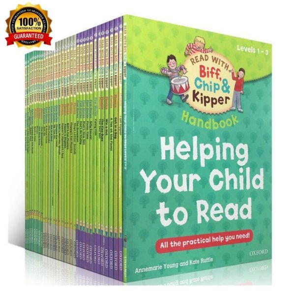 [SG] Oxford Reading Tree Level 1-3 Read With Biff, Chip & Kipper Helping Your Child To Read (33 Books)