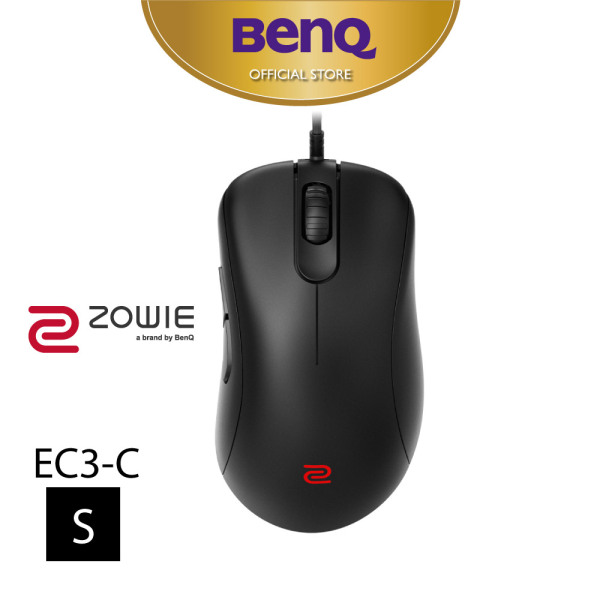 [New] BenQ ZOWIE EC3-C Esports 3360 Sensor Gaming Mouse with Ergonomic Design Paracord cable and 24-step scroll wheel