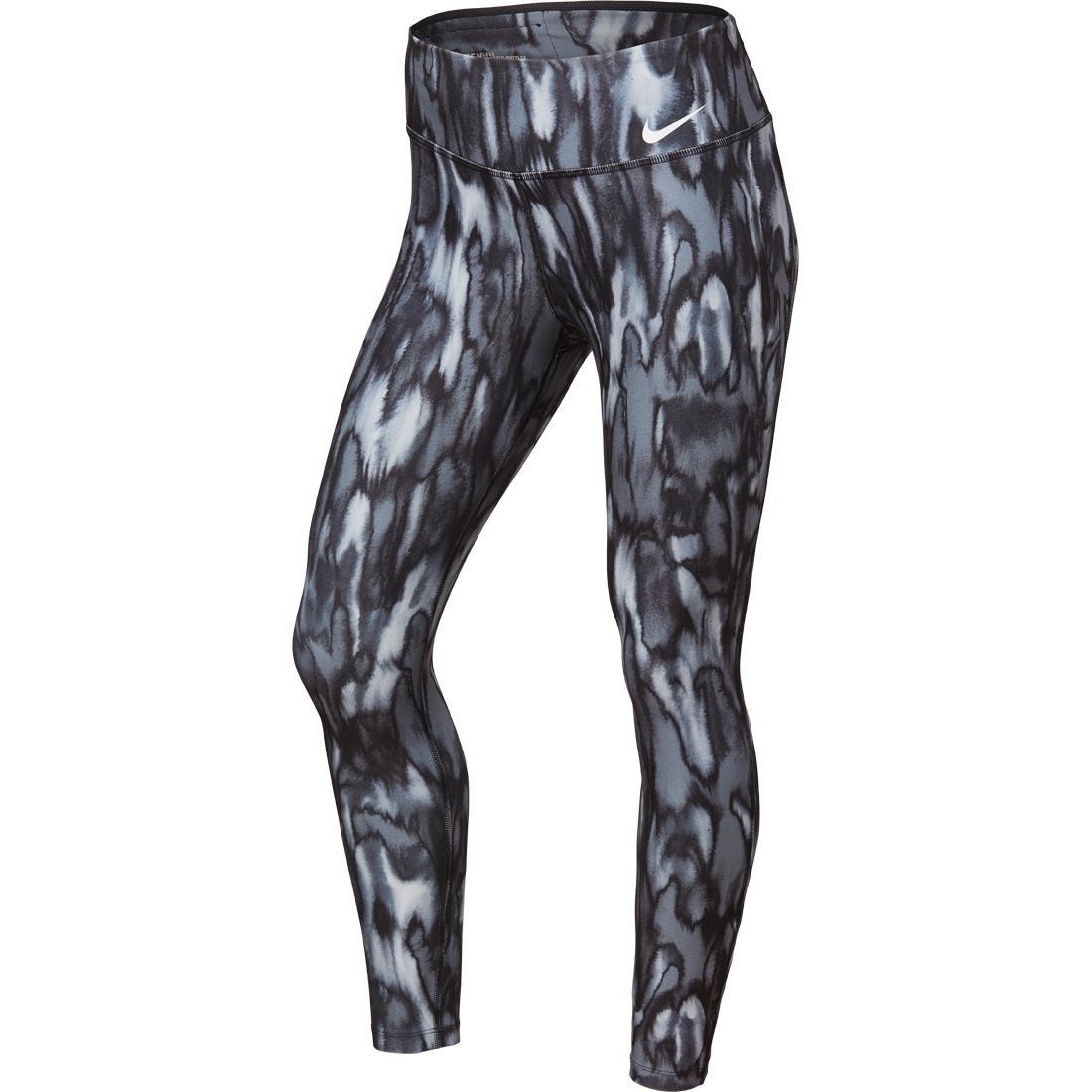 23c1e7946716a Nike Power Legend Long Tights - Women (Printed Black) 833728-010
