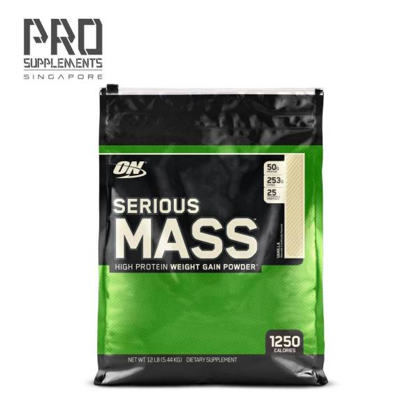 Buy OPTIMUM NUTRITION Serious Mass (12lbs) Singapore