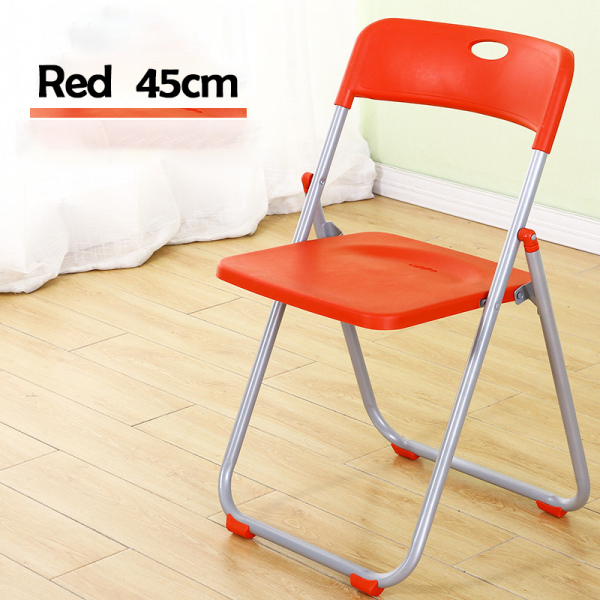 🍀 Foldable Chair HDPE Portable Chair Home Office Simple Outdoor Waterproof Party Event Lightweight Convenient 🍀